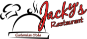 Jacky's Restaurant:  Official Site for Burritos Delivery and Carryout Logo
